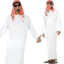 Sheikh Costume Arab Prince Sultan Arabian Robe Fancy Dress Outfit